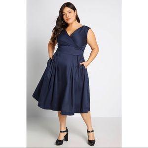NWOT Modcloth Keener Postures A-Line Dress